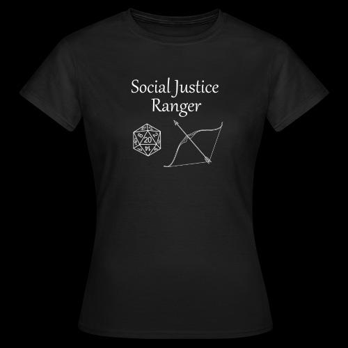 Social Justice Ranger - Women's T-Shirt