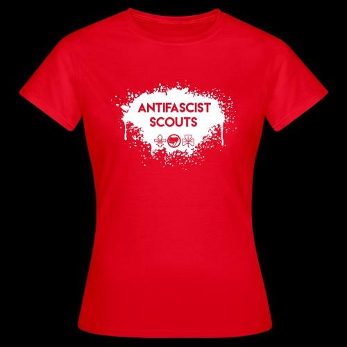 Antifascist Scouts - Women's T-Shirt