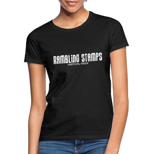 Stampsstuff - Shirt - Logo - White - Frauen T-Shirt