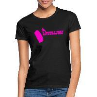 I Wish I Was Kitesurfing - Pink - Women's T-Shirt black