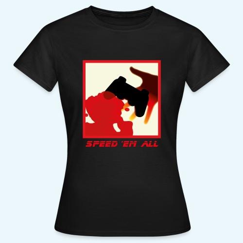 Speed em all 4x png - T-shirt Femme