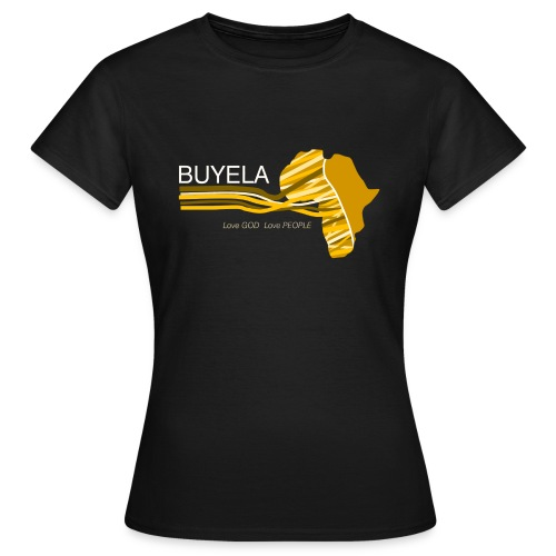 Buyela Africa loops - Frauen T-Shirt