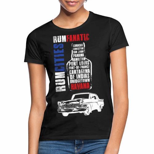 Koszulka rumowa - Havana - Koszulka miłośnika rumu - Koszulka damska