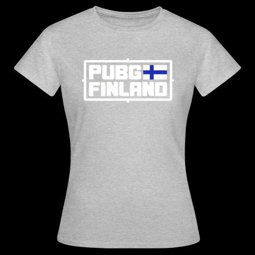PUBG Finland white - Naisten t-paita