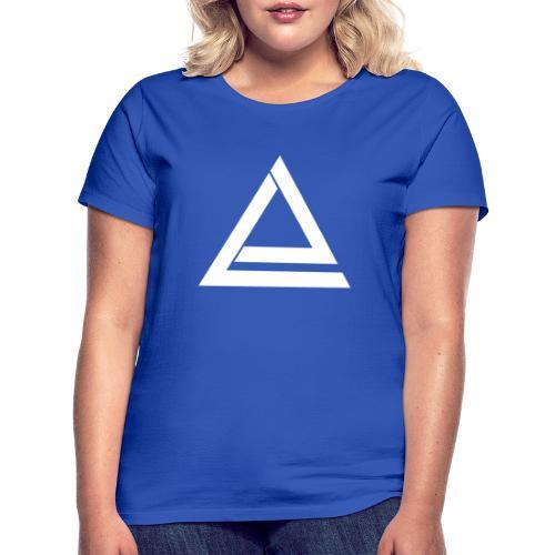 Logo Laix (Blanc) - T-shirt Femme