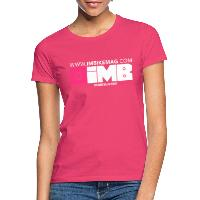 IMB Logo - Women's T-Shirt azalea