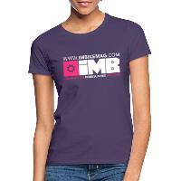IMB Logo - Women's T-Shirt dark purple