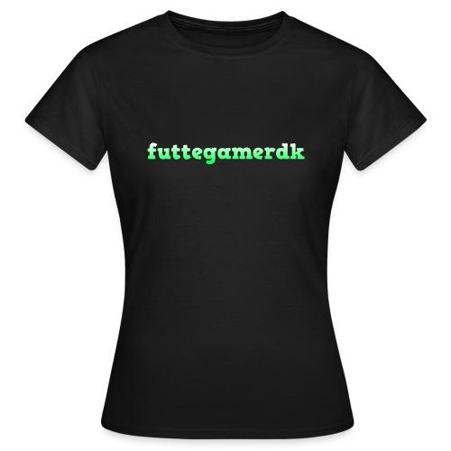 futtegamerdk trøjer badge og covers - Dame-T-shirt