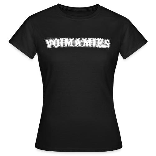 voimamieswhite - Naisten t-paita