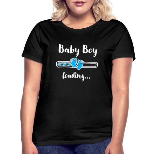baby boy loading - Frauen T-Shirt