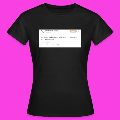 Ieuan Tweet - Women's T-Shirt