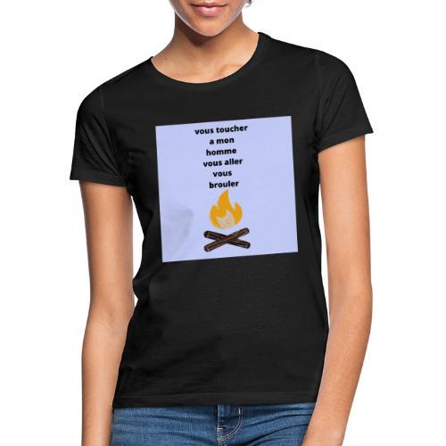 c pour les homme qui sont pris - T-shirt Femme