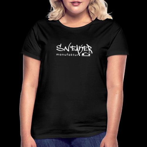 Sneakermanufaktur Linz - black edition - Frauen T-Shirt