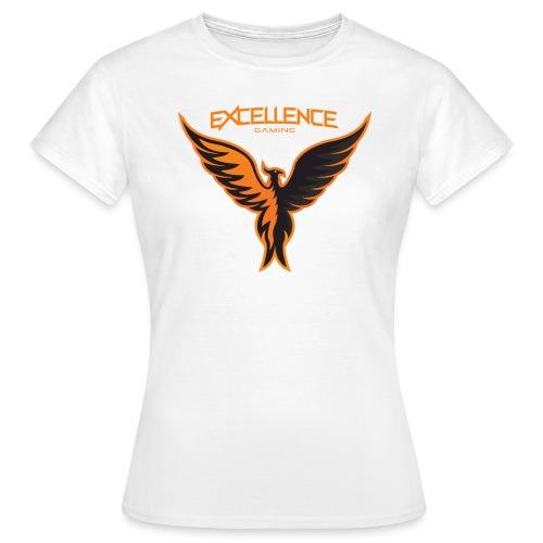 Logo Phoenix Typo Orange - T-shirt Femme