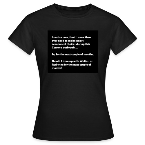 CORRONA jokes - Women's T-Shirt