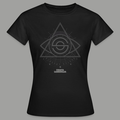Dracunit symbol2 grey white - T-shirt dam