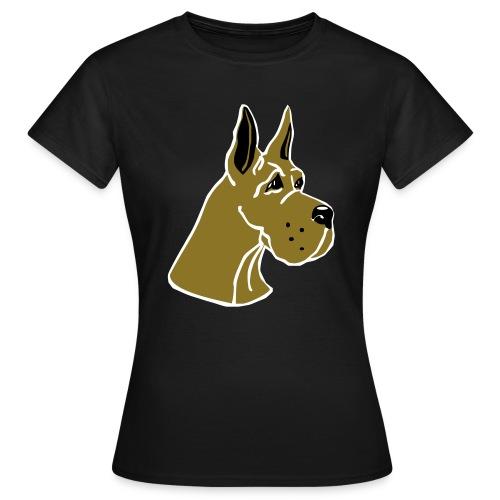tanskandoggi piir - Naisten t-paita