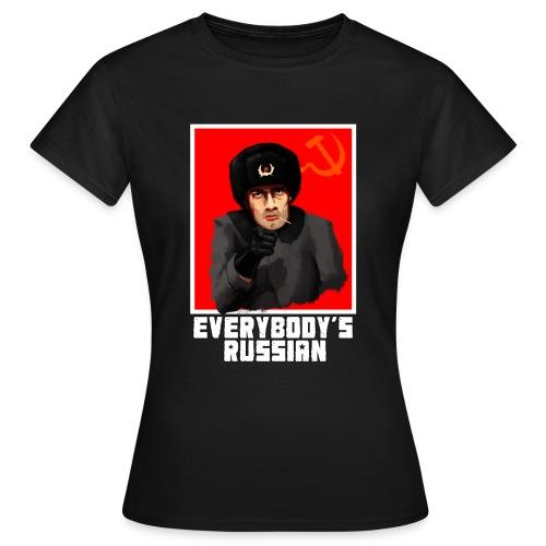 everybodys russian - Women's T-Shirt