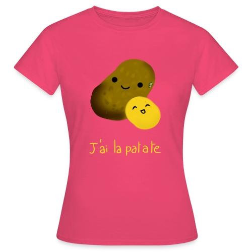 J'ai la patate - T-shirt Femme