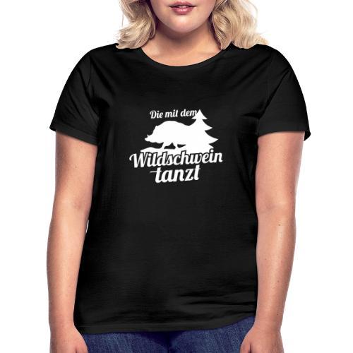 Wildschwein Frauen - Frauen T-Shirt