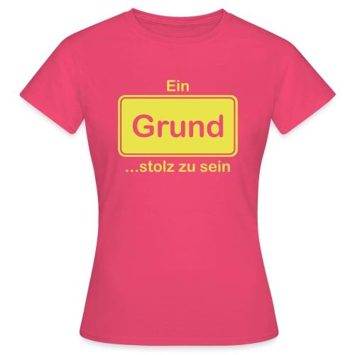 Grund_Shirts - Frauen T-Shirt