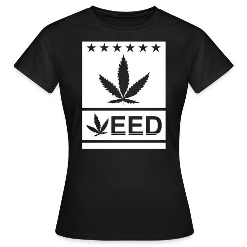 Weed flat - Frauen T-Shirt