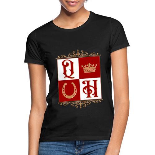 Quater Horse Ornament Pferd Royal König Geschenk - Frauen T-Shirt