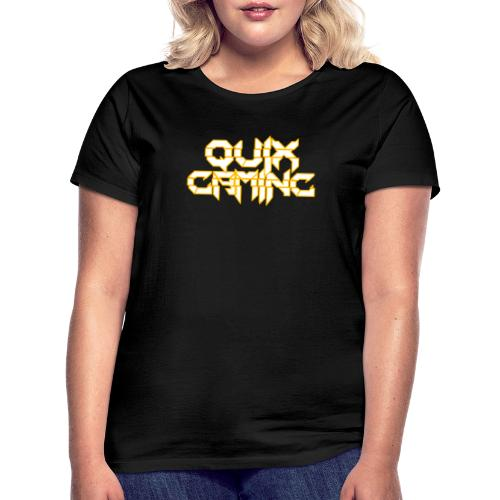 QuixGaming Simple Design - Dame-T-shirt