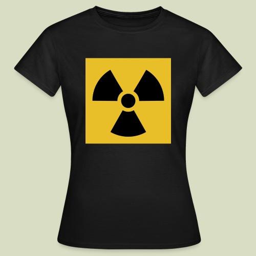 Radiation warning - Naisten t-paita