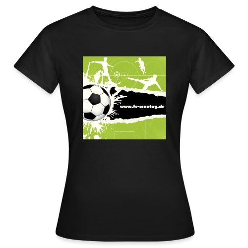 FC Sonntag Weblogo - Frauen T-Shirt