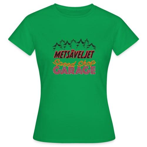 metsaveljet3 02 - Naisten t-paita