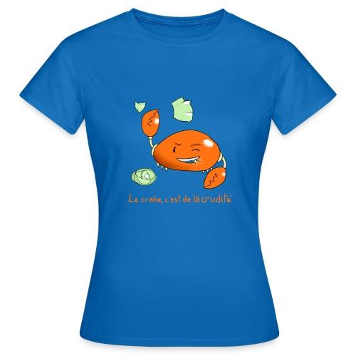 crabe png - T-shirt Femme