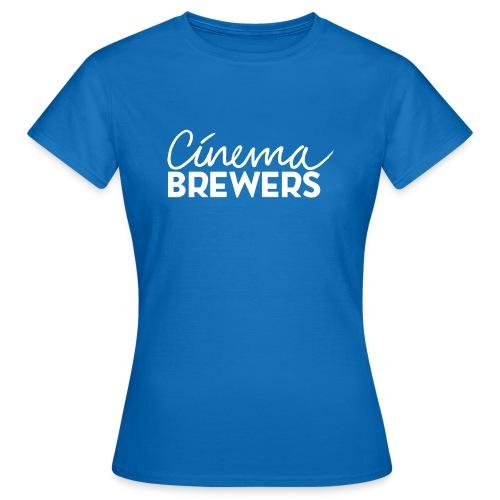 Cinema Brewers - Vrouwen T-shirt