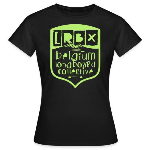 LRBX 2014 BLAZ' Pale Gree - T-shirt Femme
