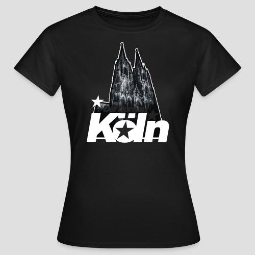 Der Dom zu Köln - Frauen T-Shirt