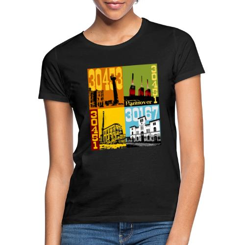 Stadtansichten Hannover Set 02 - Frauen T-Shirt