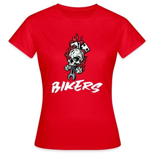 biker 666 - T-shirt Femme