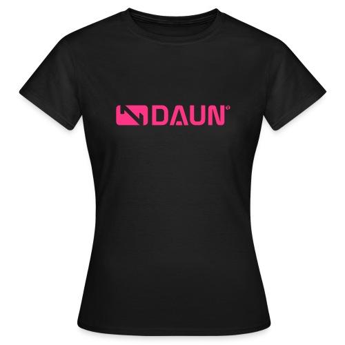 daun logo trademark querkant - Frauen T-Shirt