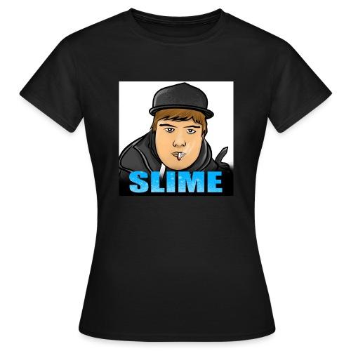 Egen SlimePlays Klær - T-skjorte for kvinner