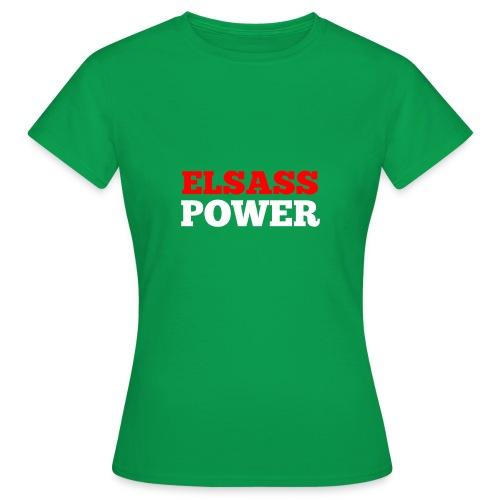 Elsass Power - T-shirt Femme