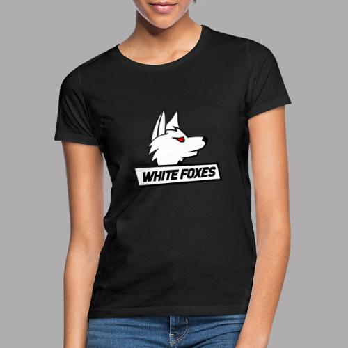 logo white foxes - T-shirt Femme