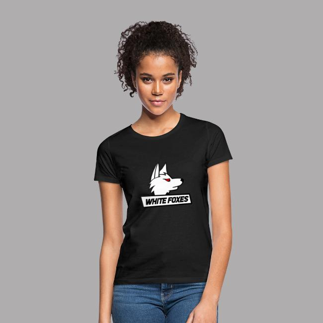 logo white foxes