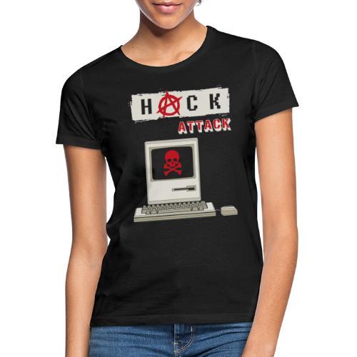 Hack Attack - Computer Hack - Computer Crime - Frauen T-Shirt