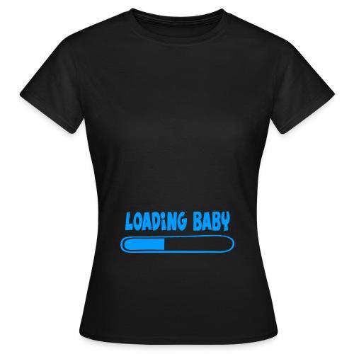 Loading baby - bleu - T-shirt Femme