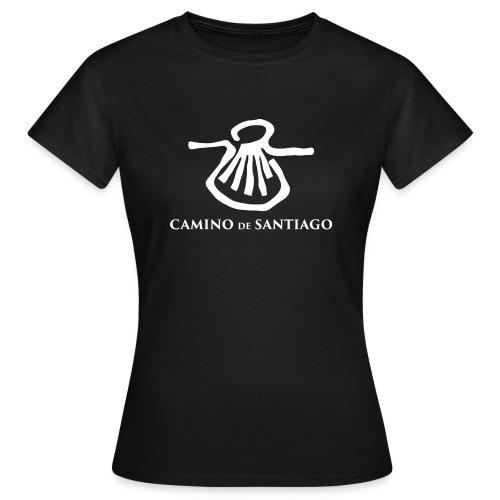 Camino de Santiago white png - Dame-T-shirt