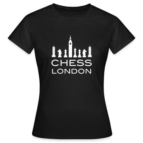 Schach London Weltmeister Schachfigur Geschenk - Frauen T-Shirt