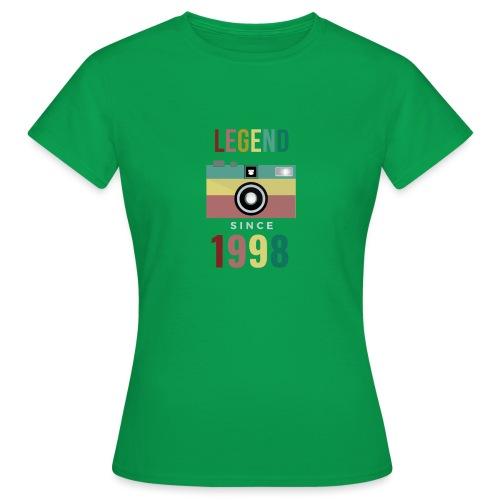 Legend since 1998 birthday t-shirt - Vrouwen T-shirt