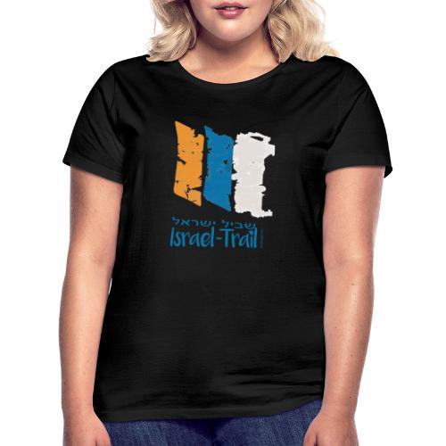Israel National Trail Wegmarkierung, blau - Frauen T-Shirt