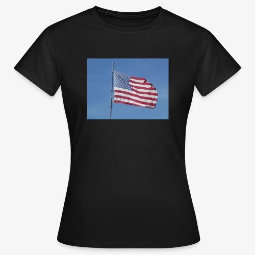USA Flagge - Frauen T-Shirt