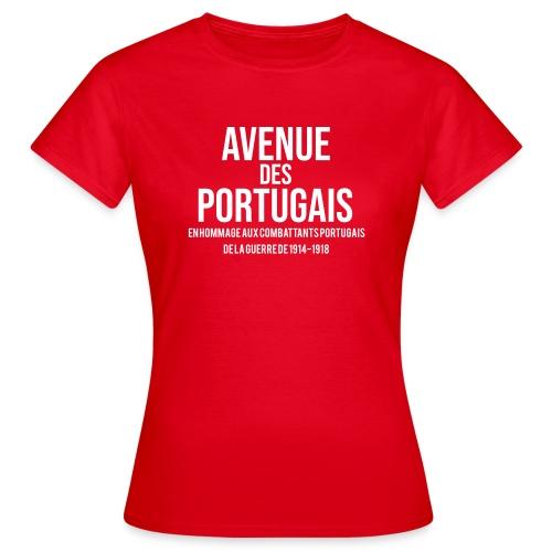 avenue des portugais - T-shirt Femme